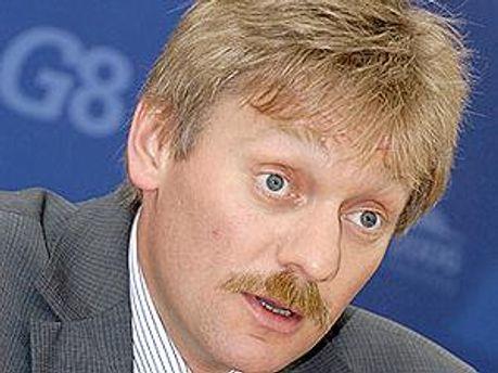 Прес-секретар Володимира Путіна Дмитро Пєсков