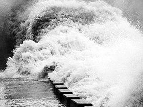 Ураган вызвал наводнения