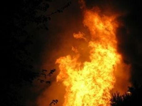 У трех человек значительные ожоги тела