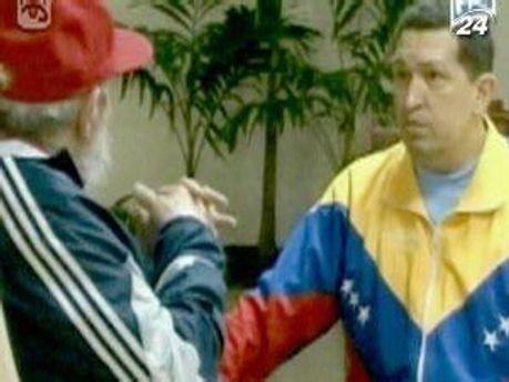 Уго Чавес сообщил, что лечение проходит успешно