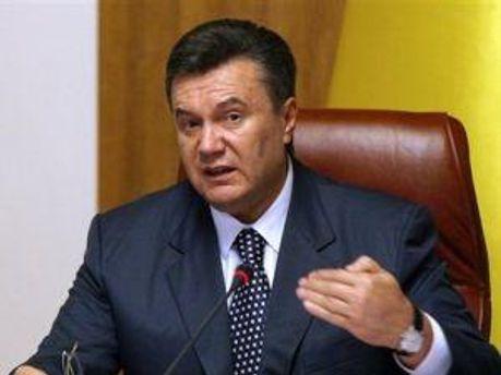 Віктор Янукович розширює парки