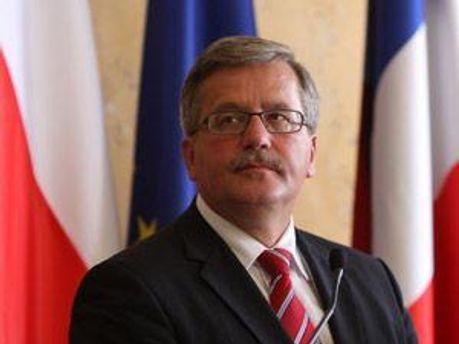 Бронислав Коморовский встретится с Виктором Януковичем