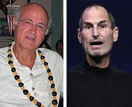 Стива Джобса нашел его биологический отец