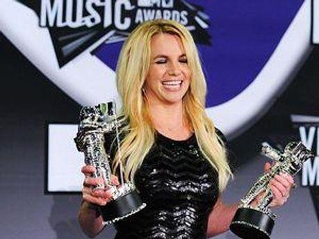 Бритни Спирс на церемонии MTV VMA 2011