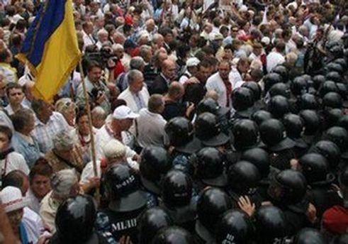 День независимости в Киеве был неспокойным