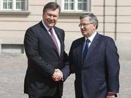 Президенты встретились