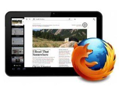 Firefox появится на планшетах