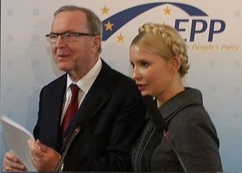 Мартенс приедет узнать как дела у Тимошенко