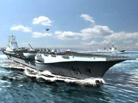 Авіаносець готовий захищати Китай