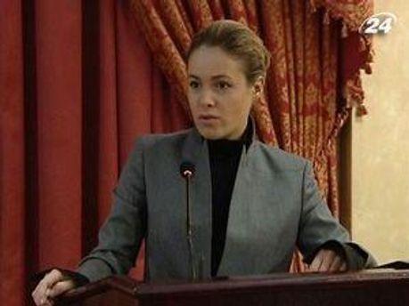 Наталья Королевская выступала в университете Шевченко