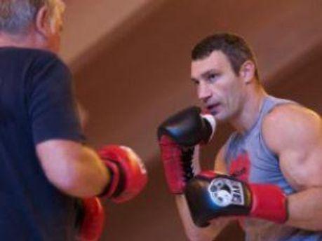 ВІталій Кличко провів останнє тренування