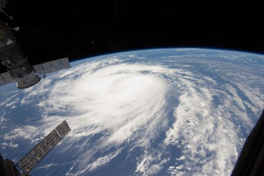 Вид урагана