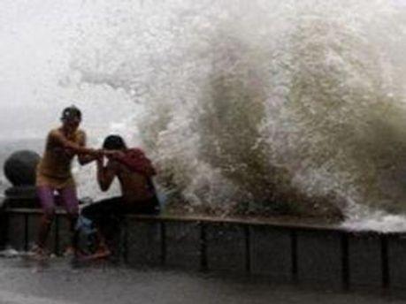 У Японії тайфун