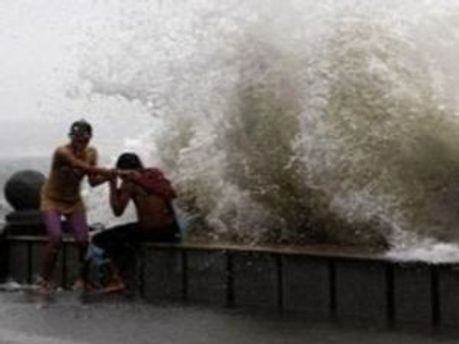 В Японии тайфун
