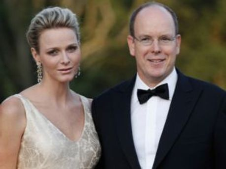 Князь Монако Альбер II і княгиня Шарлен