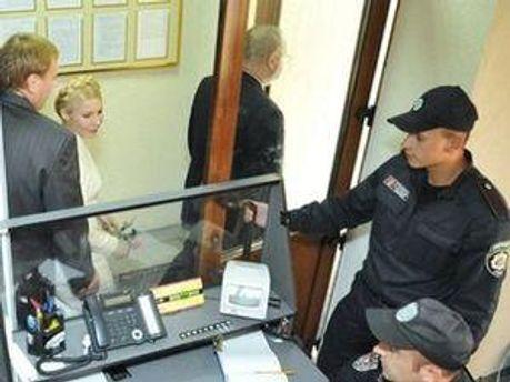 Тимошенко не отримала особливих привілеїв