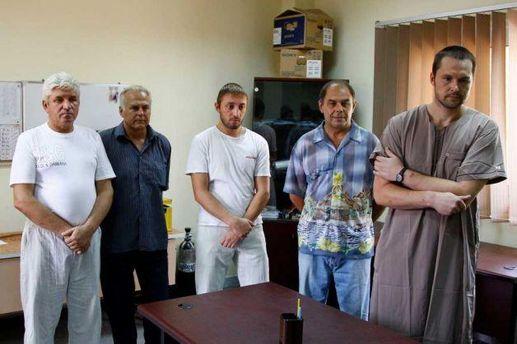 Арестованные в Ливии украинцы