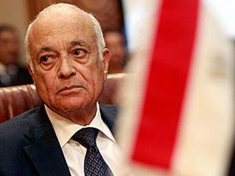 Генеральний секретар Ліги арабських держав Набіль аль-Арабі