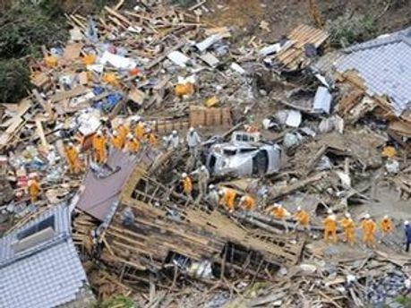 На полуострове Кии за шесть дней выпало до 70% годовой нормы осадков