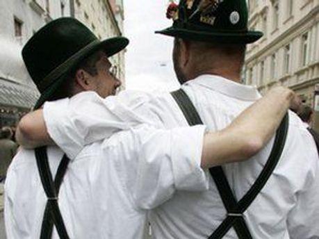 В Грузии избили немецких геев