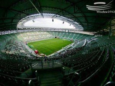 Стадион во Вроцлаве уже открыли