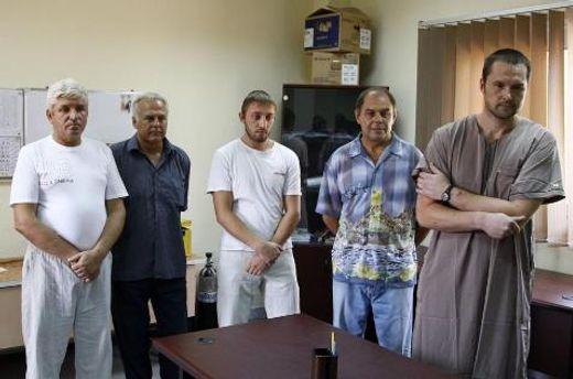 Задержанные украинцы в Ливии