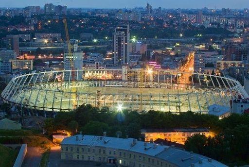 Главную футбольную арену Киева откроют 8 октября