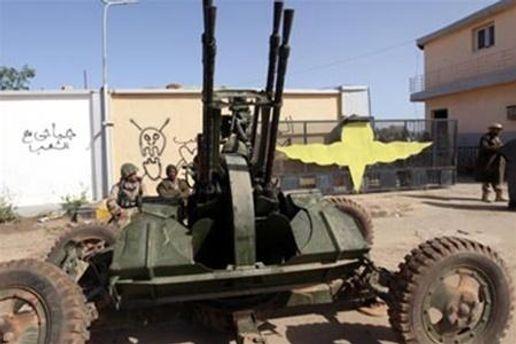 Войска Каддафи начали ракетный обстрел