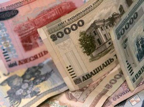 Белорусские рубли обесцениваются
