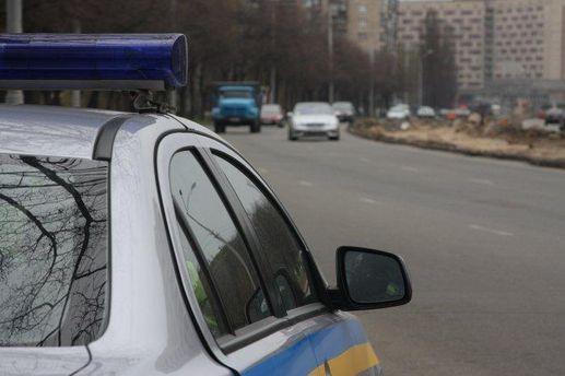 Милиционер на служебном авто сбил женщину