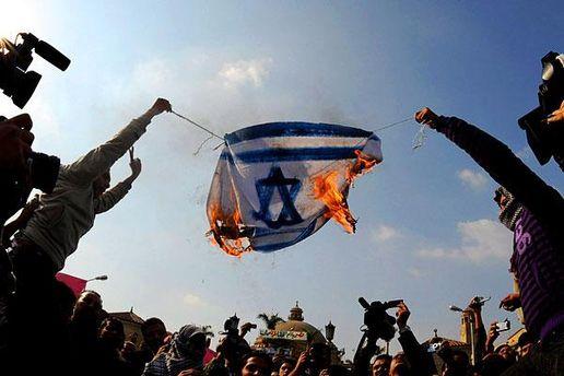 В Каире - антиизраильские демонстрации