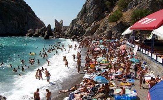 Понад мільйон росіян відвіддали Крим цього літа