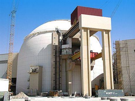 Атомна електростанція в Бушері, Іран.