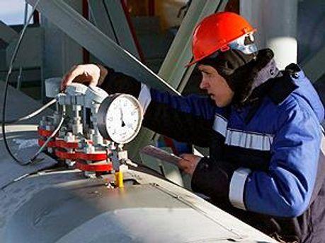 Експорт російського газу впав