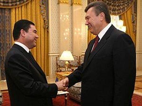 Гурбангулы Бердымухамедов и Виктор Янукович