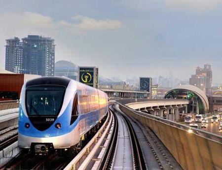 Метро в Дубаи является одним из лучших в мире