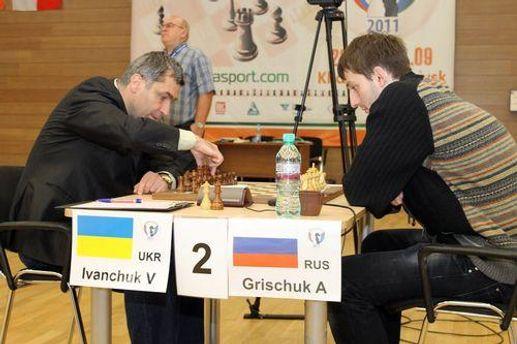 Василий Иваничук против Александра Грищука
