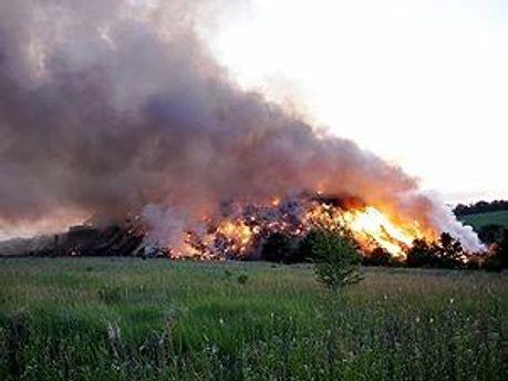 Вночі пожежу локалізували
