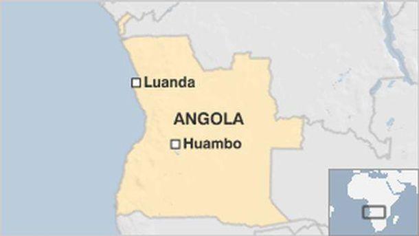 В Анголе упал военный самолет