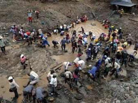 Золотоискатели в Колумбии
