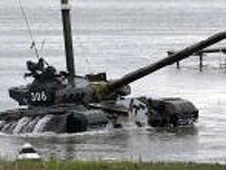 Солдат загинув, захлинувшись водою