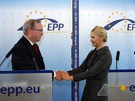 Вильфред Мартенс и Юлия Тимошенко