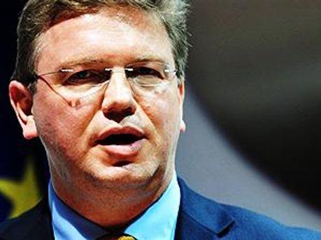 Комиссар ЕС по вопросам расширения и европейской политики соседства Штефан Фюле