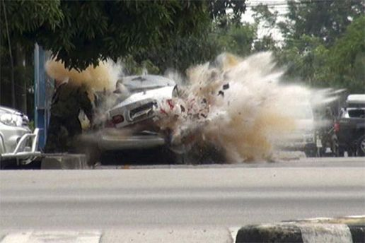 Одна з бомб була закладена в автомобіль