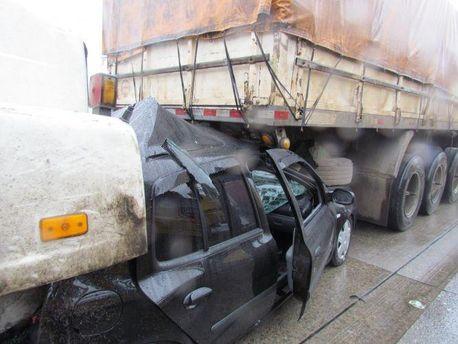 В результате аварии пострадали более 50 человек