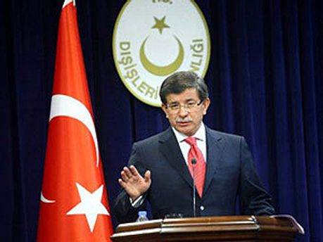 Міністр закордонних справ Туреччини Ахмет Давутоглу