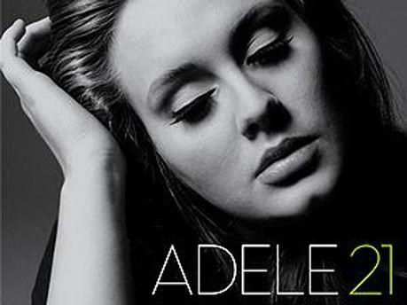 Обкладинка альбому співачки Адель