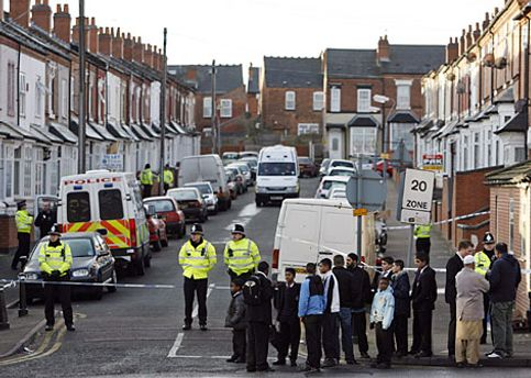 Полиция задержала предполагаемых террористов