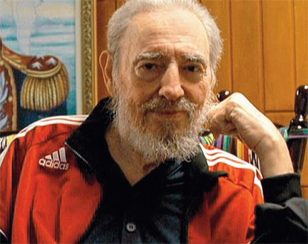В последнее время Фидель Кастро практически не появляется на публике
