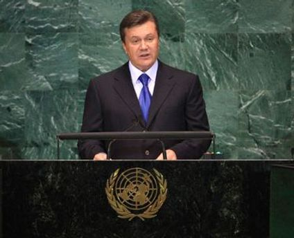 Віктор Янукович виступить в ООН